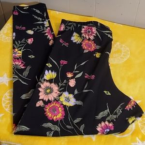 Old Navy Floral Leggings